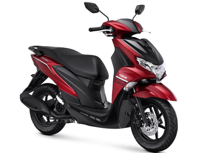 Yamaha FreeGo Standar Metalic Red (Foto: YIMM)