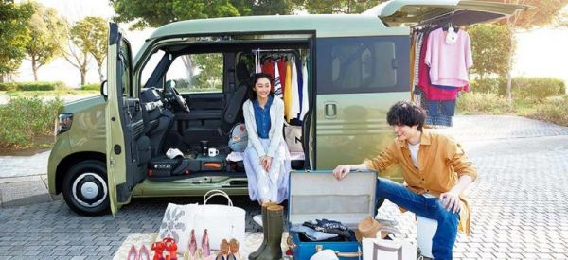 Honda N-Van bagian dari keluarga N Series (Foto: Honda.co.jp)