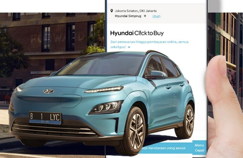 Beli mobil listrik Hyundai bisa lewat online (Foto: Hyundai Motor Indonesia)