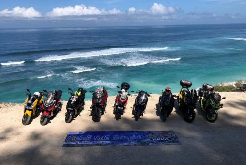 Touring Yamaha YRFI Melali Bali Bangkit (Foto: YRFI Bali)