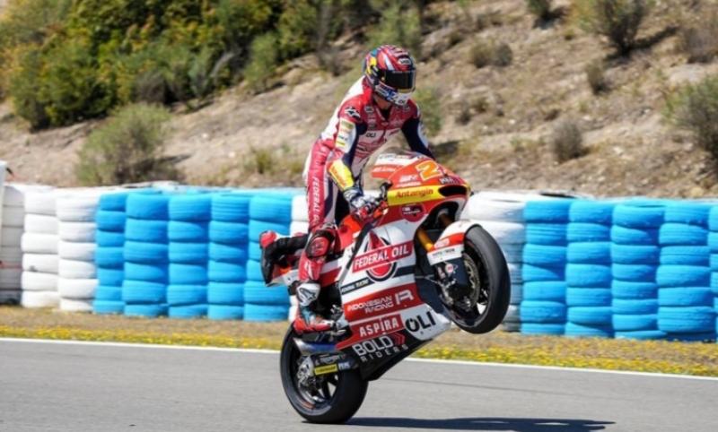 Aspira naik kelas bersama Gresini Racing merambah MotoGP dengan tim Flek-Box Gresini MotoGP (Foto: Instagram Aspira Gresini)