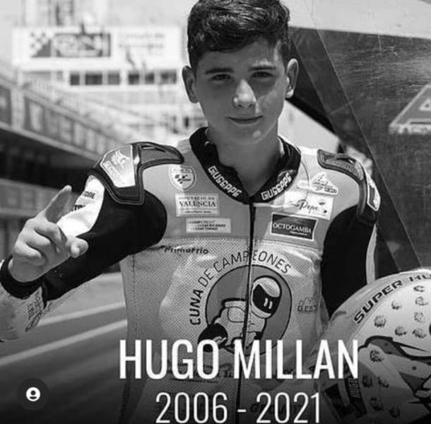 Hugo Millan dalam Kenangan (Foto: Instagram FIMCEVRepsol)