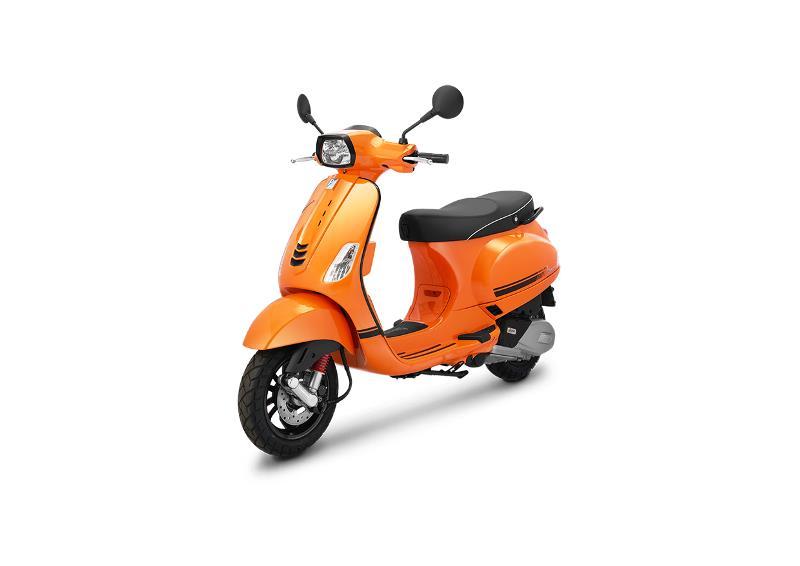 Vespa S warna baru Orange Taormina (Foto: Piaggio Indonesia)