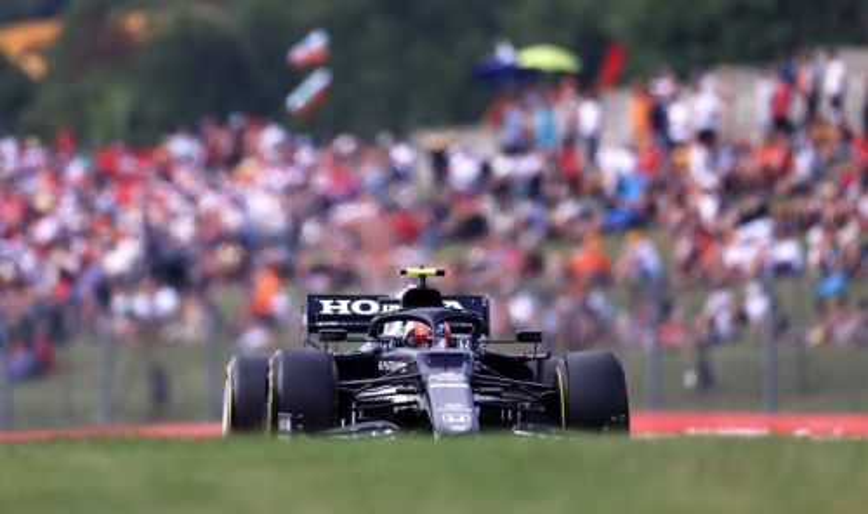 Scuderia AlphaTauri Honda di F1 GP Hungaria (Foto: Honda)