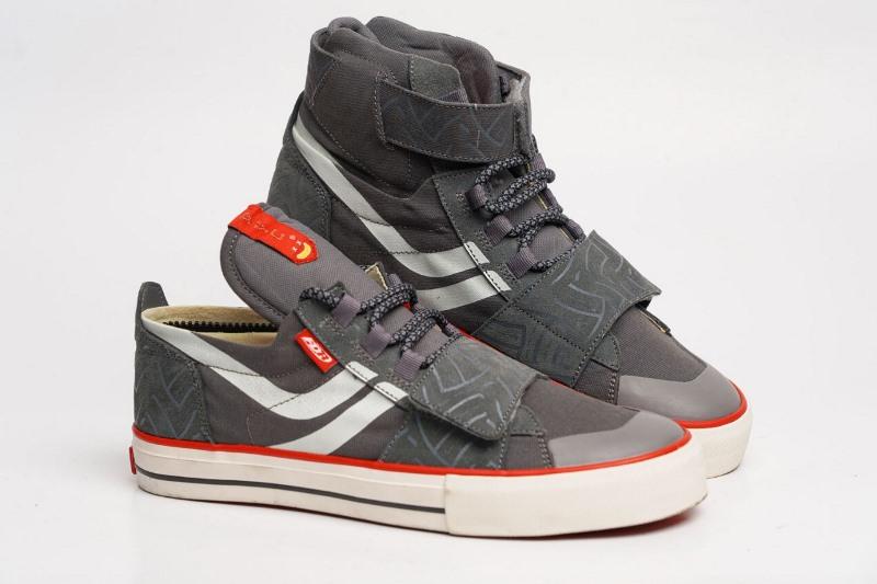 Sepatu State of Luis Evo, sepatu hasil kolaborasi perusahaan Indonesia, FDR-FYC (Foto: FDR)