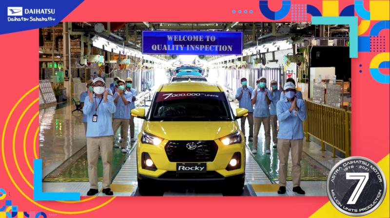 Daihatsu Rocky, Mobil ke-7 Juta yang diproduksi Daihatsu di Indonesia (Foto: ADM)