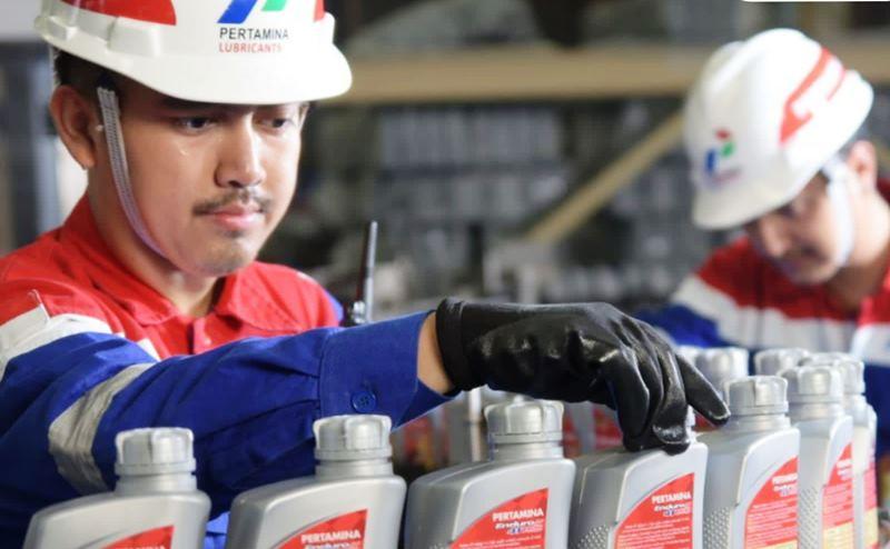 Pabrik pembuatan pelumas Pertamina untuk mendukung perluasan jangkauan di pasar global (Foto: PTPL)