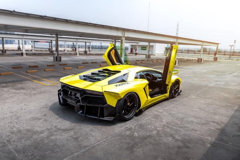 Model mobil garapan Karma Body Kit yang akan memeriahkan IMX 2021 Limitless (Foto: IMX 2021)