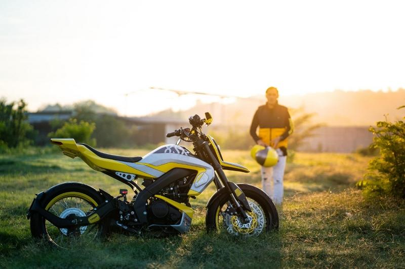 Nitro 155, Yamaha XSR Jadi-jadian Berkonsep Futuristic Supermoto