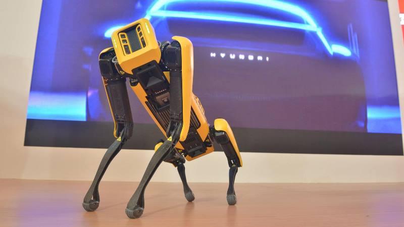SPOT, Robot pintar berkaki empat buatan Hyundai (Foto: HMID)