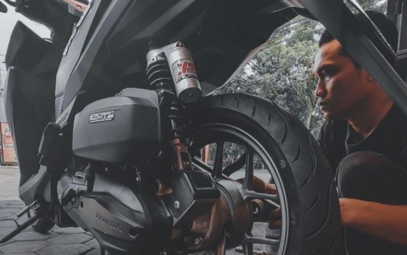 Tips Merawat Ban Motor, Disarankan Pakai Nitrogen