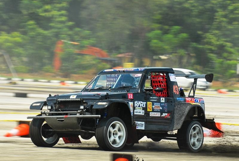 Suasana balap Tarmac Rally Zone (Foto: Dok. Tarmac Rally Zone)