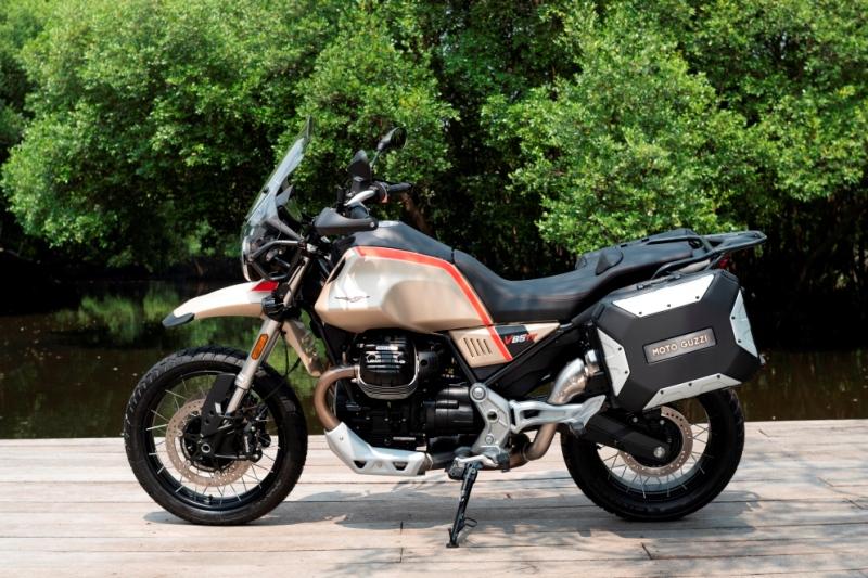 Moto Guzzi V85 TT Travel dirilis dengan banderol Rp700 juta OTR (Foto: Moto Guzzi)