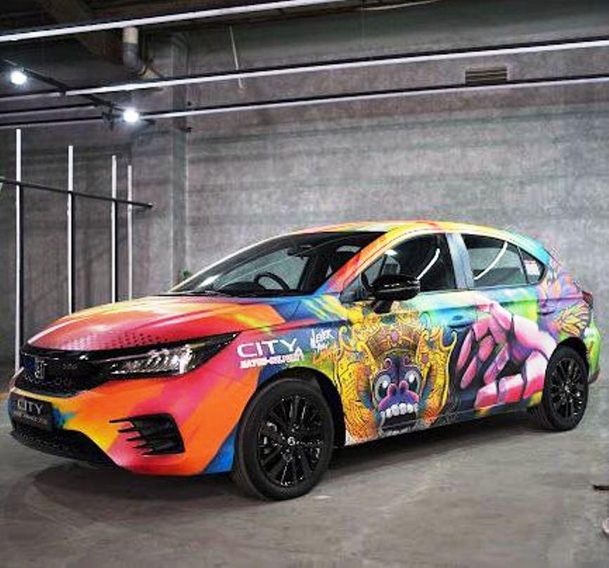 Modifikasi Honda City Hatchback RS di Ajang IMX 2021 (Foto: HPM dan IMX 2021)