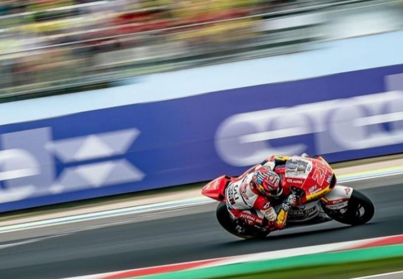 Pembalap Gresini Racing yang didukung Federal Oil, Fabio Di Giannantonio (Foto: IG fabiodiggia21)
