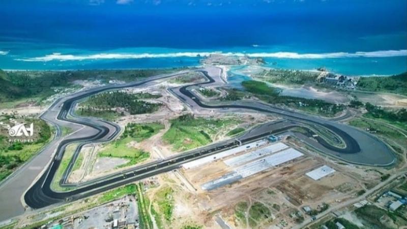 Sirkuit Mandalika siap menggelar WSBK Indonesia 2021 (Foto: IG Sirkuit Mandalika & Dyandra)